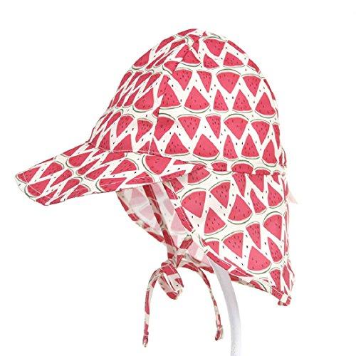Boomly Estate Motivo Stampato Asciugatura Rapida Traspirante Berretto per Bambino Cappello Bambino con Visiera Cappello da Sole da Spiaggia Cappello da...