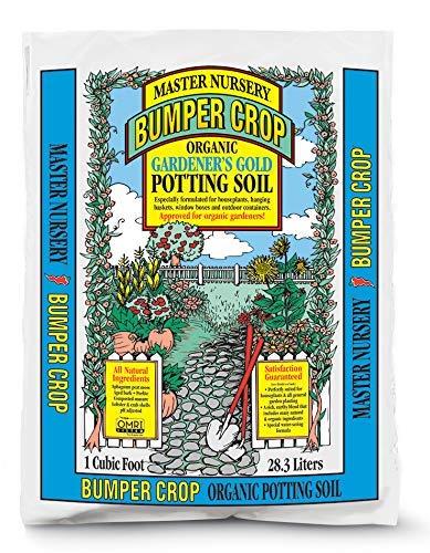 Master Nursery MGG2 Bumper Crop Gardener's Gold Organic Potting Soil, 2 Cuft.