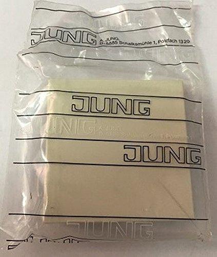 Jung TOPLINE LS 961.07 Zentralscheibe für Dimmer weiß