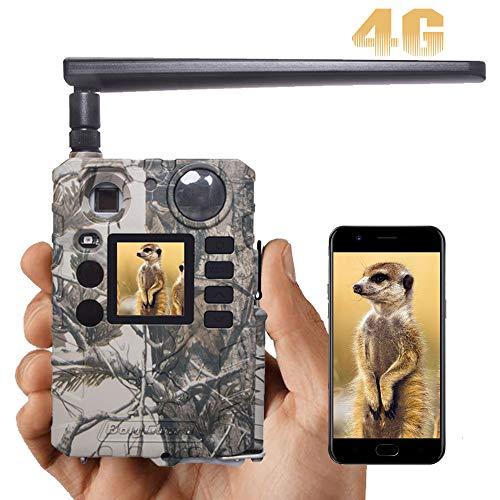 BolyGuard 4G/LTE Wildkamera 20MP 720P MMS GPRS Email Video Jagdkamera Bewegungserkennung in der Nacht mit Infrarot-Aufnahme mit 940nm LEDs IP66 Wasserdicht Outdoor-Kamera