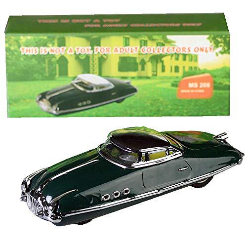 HwaStudio Attrito Verde Retro Limousine Auto Auto Tin Toy W/Box Stile Vintage Paya Packard Turismo