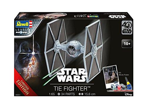 Revell 06051–Maqueta de Tie Fighter 40Years Star Wars en Escala 1: 65'