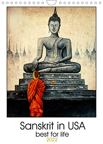 Buddha in USA (Wall Calendar 2022 DIN A4 Portrait): Find success and serenity every day with Buddha (Monthly calendar, 14 pages )