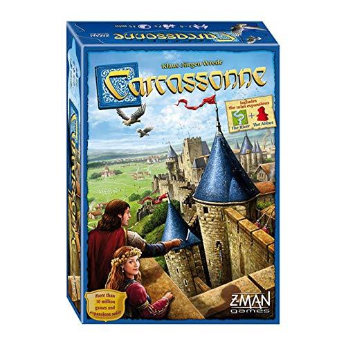 xqkj Desktop Game Kids Carcassonne All English Karaoke Winter