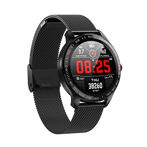 Microwear L9 Smartwatch Orologio Intelligente Monitoraggio della frequenza cardiaca Monitoraggio del Sonno Timer IP68 Impermeabile Fitness Multi-Sport modalità Orologio da Polso per Android/iOS