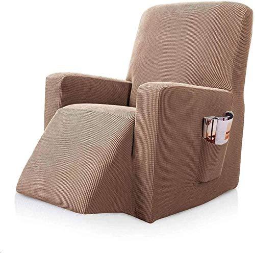AQWESD Funda para Silla de Club, Funda para Silla elástica Impresa para sillón, Funda para Silla de bañera, Licra, Suave, Lavable con Fondo elástico, Protector de Muebles para sofá-A