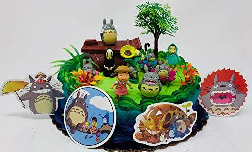 My Neighbor Totoro Birthday Cake Topper