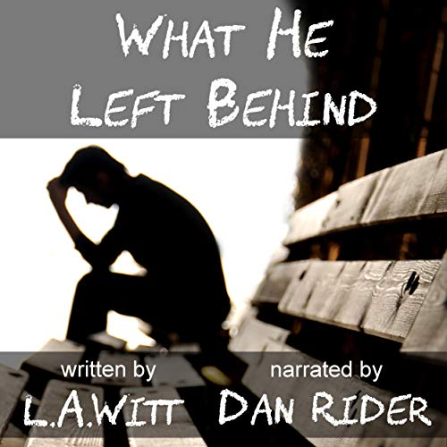 What He Left Behind  By  cover art
