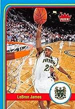 LeBron James Basketball Card (St. Vincent St. Mary High School) 2013 Fleer Retro #2