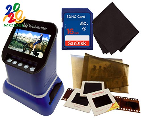 Best Review Of Wolverine F2D Saturn Digital Film & Slide Scanner - Converts 120 Medium Format, 127 F...