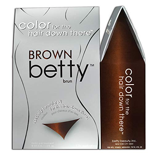 Betty Beauty Brown Betty Color for the Hair Down There Coloring Kit 2.0 Fluid Ounces by Betty Beauty