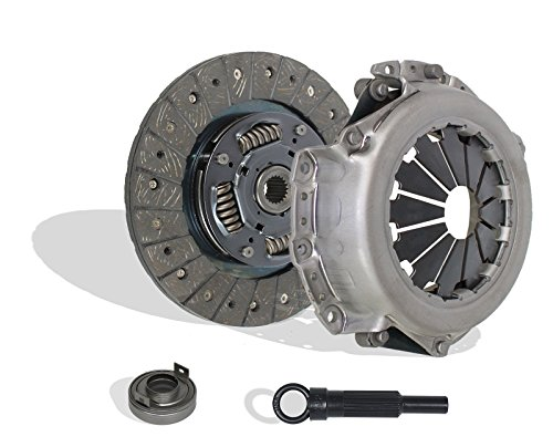 Clutch Kit Works With Mitsubishi Space Star Mpv LS Es De Dl Base Turbo Gl Gls S 100 Vista Gt 1987-2002 1.8L l4 GAS SOHC Naturally Aspirated (Flywheel Spec: Flat; From 12/86; Hydraulic Linkage) Eagle Talon Spec Clutch