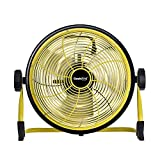 Geek Aire, 12 Inch Rechargeable Table Fan with 15600 mAh Li-ion Battery, upto 24hrs Run time during...