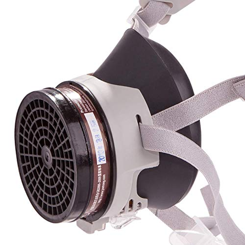 RANKSING: Strong-FDX Dust Half Respirator with Replaceable and Reusable Filters,for Formaldehyde,Paint Respirator,Decoration Respirator and other work