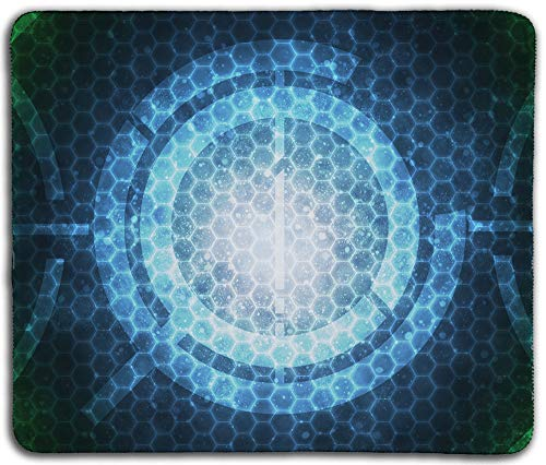 """Inked Playmats Neon-Tech PC – Gaming Mouse Pad 13x11"""""""