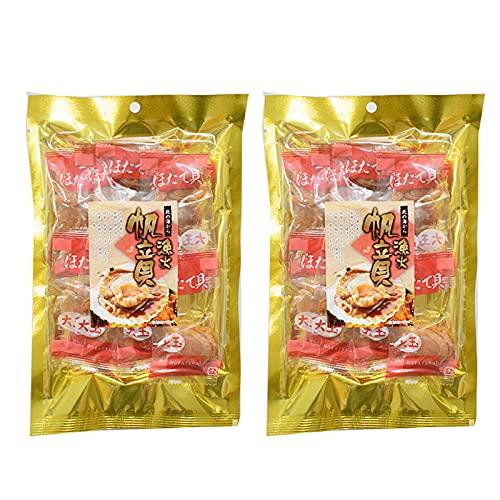 珍味 おつまみ 漁火 帆立貝 おつまみ ほたて 90g × 2袋 ほたて 乾物 個包装 ホタテ