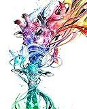 5D pintura diamante para Adultos y niños Pintura de Diamantes Kit Completo Cristales Estrás Bordado Punto de Cruz Cuadros Artes para decoración del hogar, caracoles(30 x 40 cm)