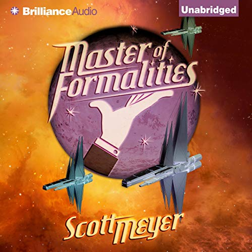 Master of Formalities audiobook cover art
