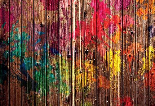 Alter hölzerner Hintergrund für Fotografie Planken Brett Hartholz Textur Party...
