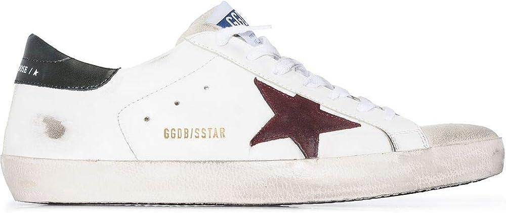 Golden goose luxury fashion,sneakers per uomo,in vera pelle al 100% GMF00101F00033880303