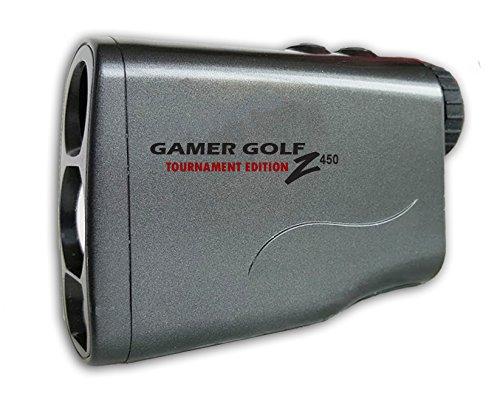 Gamer Golf Z450 Laser Range Finder with Pinseeking Scan Technology (Slate)