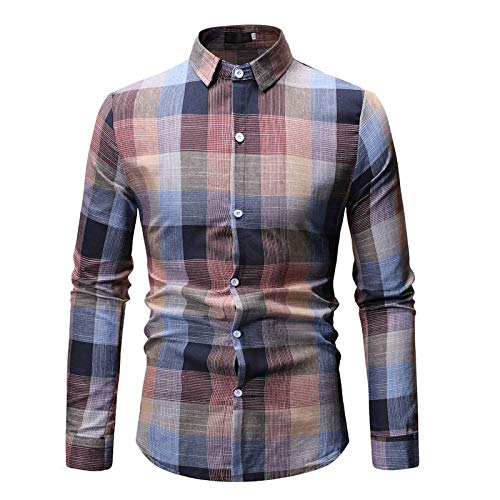 PPTS - Camisa de manga larga para hombre
