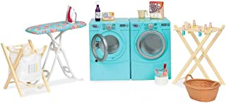 Our Generation Dolls Tumble and Spin Laundry Set for Dolls, 18