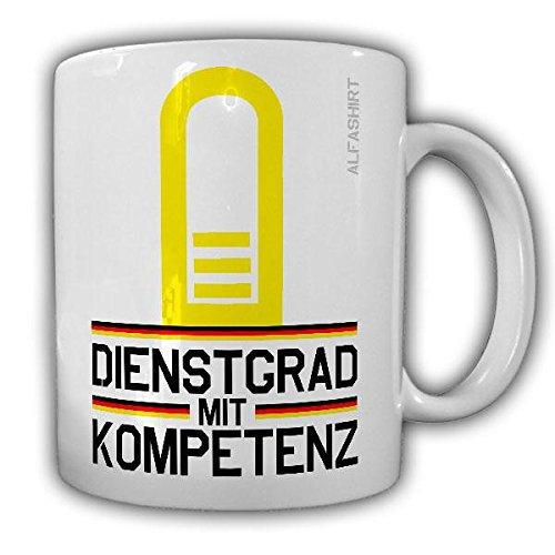 Tasse Korvettenkapitän Marine Dienstgrad Bundeswehr Militär Rangabzeichen Abzeichen Schulterklappe Kaffee Becher #20723