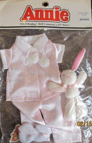 "Effanbee Little Orphan Annie Fashions Sweet Dreams Annie Outfit Fits 14"" Patsy Annie Doll (2004 Tribune Media/Effanbee)"
