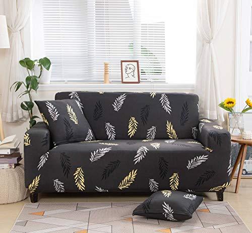 Funda de sofá de Siete plazas en Forma de L, Funda de sillón en Forma de L para Sala de Estar, Funda Protectora Elegante y Suave con Todo Incluido,Color7,3-Seater_190-230cm