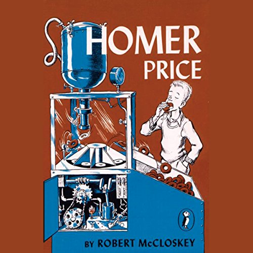 Homer Price audiobook cover art