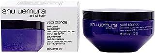 SHU UEMURA ART OF HAIR yūbi blonde anti-brass purple mask 200ml