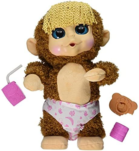 Animal Babies Feature Jumping Lil Monkeys Girl Plush by Animal Babies