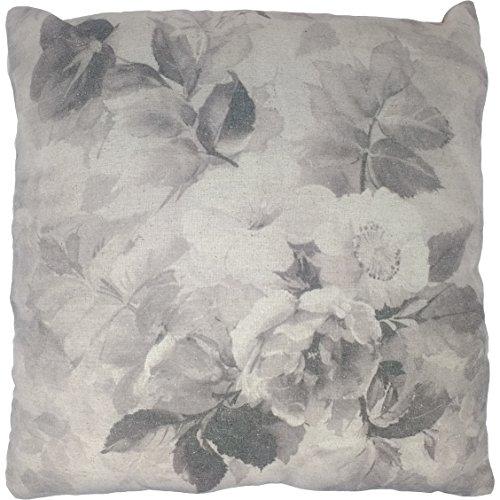 UK Care Direct Vintage Floral 40 cm Housse de Coussin