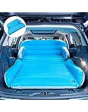 Sulida SUV Matelas Car Gonflables Version améliorée de la buse à air Double Couche Pliable Double Face épaissie avec Pompe à air électrique canapé de Camping intérieur Quatre en Un