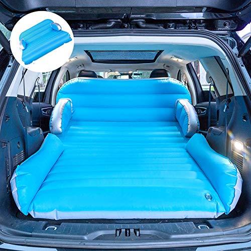 Sulida SUV Luftmatratzen Auto-Upgrade-Version verdickte doppelseitige Faltbare doppelschichtige Luftdüse mit elektrischer Luftpumpe Indoor-Camping-Sofa Vier in einem