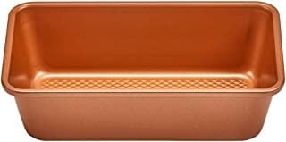 Copper Chef 9x5 Loaf Pan | Diamond Baking Pans - Non Stick Cookware | Perfect Bread Pan for Oven
