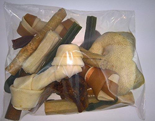 Zoolox Snack Paket für Hunde, Bruchware neu verpackt, ca. 500g, Kauknochen, Snacks
