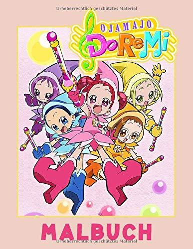 Ojamajo Doremi Malbuch: Malbuch Anime Geschenk für Erwachsene und Kinder