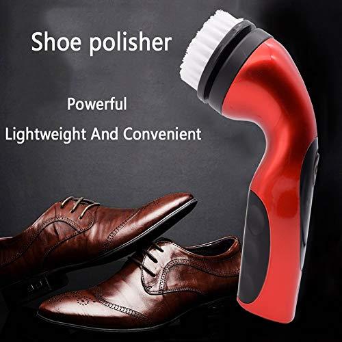 Shoe Pulidora De Zapatos Recargable Eléctrica Cabeza
