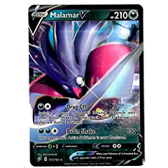 Malamar V 121/192 Set: Sword & Shield - Rebel Clash All cards are 100% AUTHENTIC and are pulled directly from Pokemon booster packs.