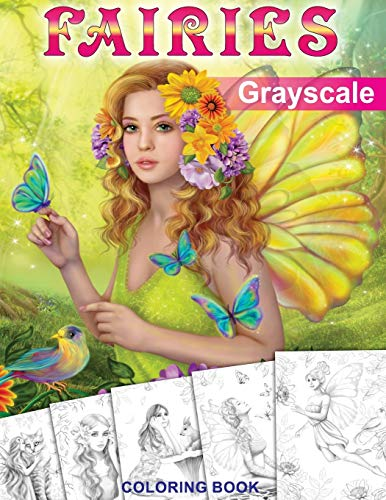 Price comparison product image Fairies. GRAYSCALE Coloring Book: Coloring Book for Adults