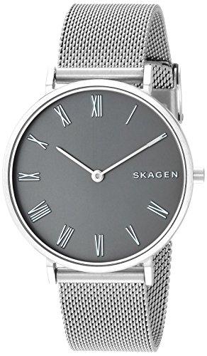 Skagen Damen Analog Quarz Uhr mit Edelstahl Armband SKW2677
