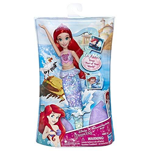 Disney Princesses – Poupee Princesse Disney Ariel Chantante - Chante en français - 30 cm