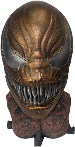 de moda SSRS SSRS SSRS Avengers Venom Deadly Guardian Resina Horror Máscara Baile De Rendimiento Máscara Halloween (Color   C)  forma única