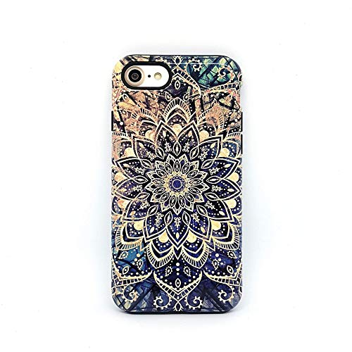 Mandala Boho cover case custodia per iPhone 5, 5s, SE 2016, 6, 6s, 7, 7 plus, 8, 8 plus, X, XS, 11, per Galaxy S6, S7, S8