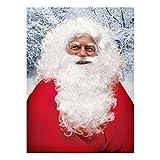 MW Deluxe Perruque, Barbe et des Sourcils de Père Noël (Santa Claus) Homme