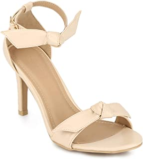 TRUFFLE COLLECTION Women's 1568-58 Beige PU Fashion Sandals