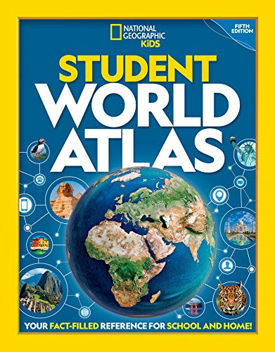 Compare Textbook Prices for National Geographic Student World Atlas 5 Edition ISBN 9781426334795 by Kids, National