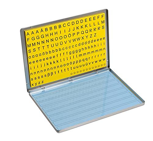 Betzold 86570 - Lese-Magnetbox Kinder Buchstaben - Lernspielzeug Lesen Lernen